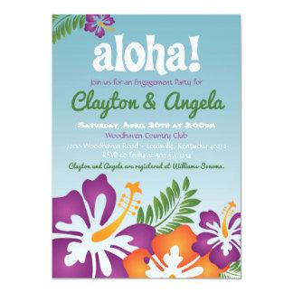 Aloha Summer Luau Invitation