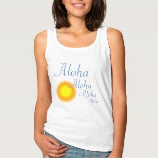 Aloha Summer Sun Tank Top