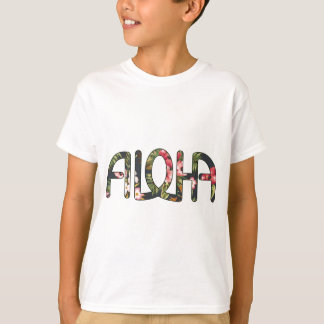 Aloha Tropical Black T-Shirt