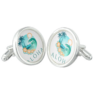 Aloha Tropical Cufflinks