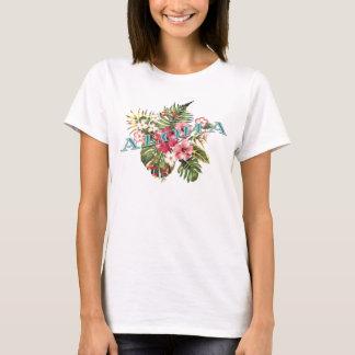 Aloha Tropical Floral T-Shirt