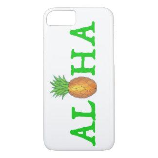 ALOHA Tropical Hawaiian Pineapple Phone Case