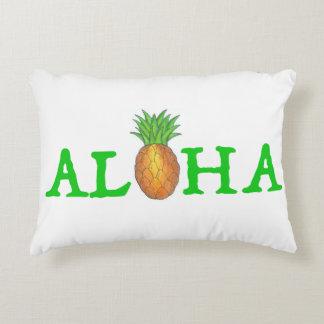 ALOHA Tropical Island Hawaiian Pineapple Pillow