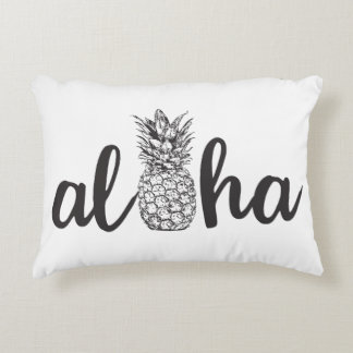aloha tropical pineapple accent pillow home decor