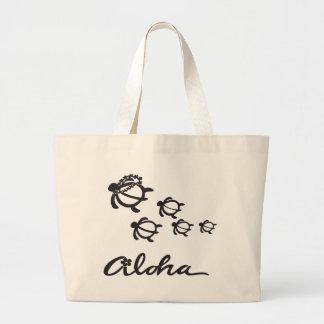 Aloha turtle 2.png large tote bag