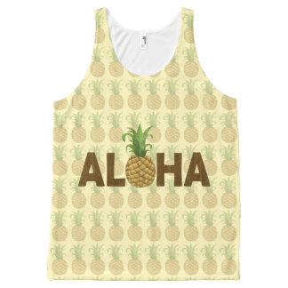 Aloha Vintage Pineapple Hawaiian