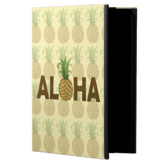 Aloha Vintage Pineapple Hawaiian Hawaii Powis iPad Air 2 Case