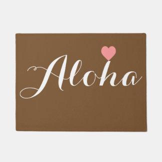 Aloha Welcome Doormat