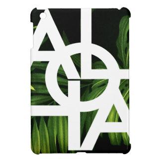 Aloha White Graphic Hawaii Palm iPad Mini Case