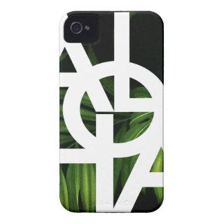 Aloha White Graphic Hawaii Palm iPhone 4 Cover