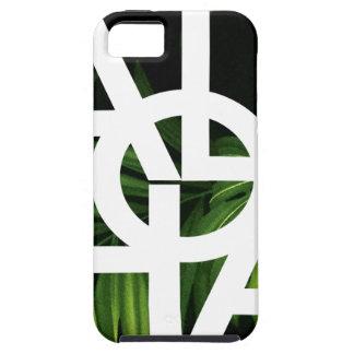 Aloha White Graphic Hawaii Palm iPhone 5 Case
