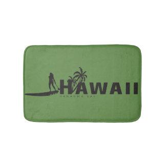 Aloha Windsurfing in Hawaii Bath Mat
