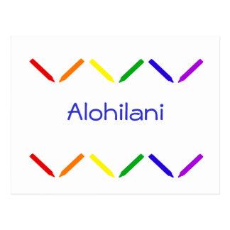 Alohilani Postcard