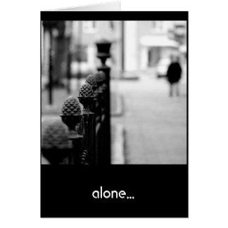 Alone Card