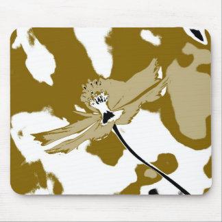 Alone flower - Fine art Mousepads