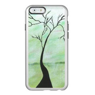 Alone I Waited Abstract Landscape Art Crooked Tree Incipio Feather® Shine iPhone 6 Case