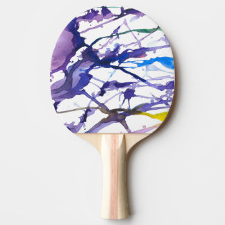 "''Alone in the woods"" Ping Pong Paddle"