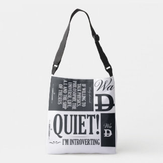 Alone : Meaning : Theseus : Quiet Crossbody Bag