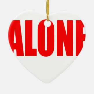 alone party night summer end invitation flirt roma ceramic heart ornament