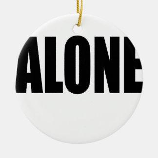 alone party night summer end invitation flirt roma round ceramic ornament