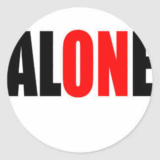 alone party night summer end invitation flirt roma round sticker