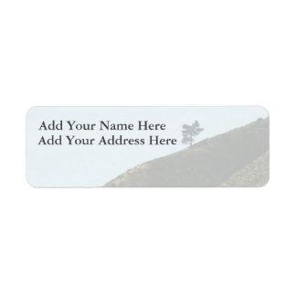 Alone Return Address Label