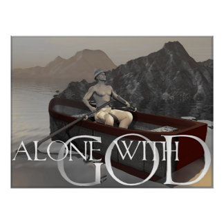 Alone with God Poster