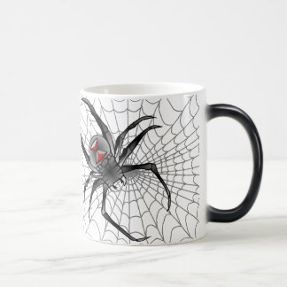 Along Came A Spider ... Magic Mug