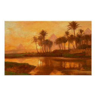 Along the Nile Poster