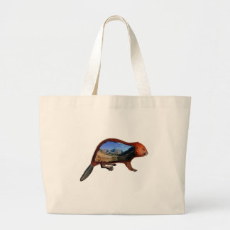 Along the Riverbend Large Tote Bag