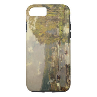 Along the Seine at Meudon, c.1893 (oil on canvas) iPhone 7 Case
