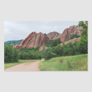 Along the Trail at Roxborough Sticker