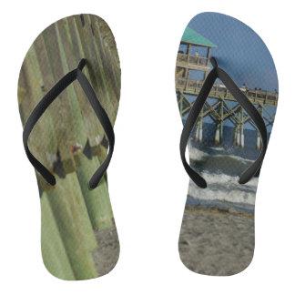 Alongside Folly Pier Flip Flops