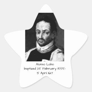 Alonso Lobo Star Sticker