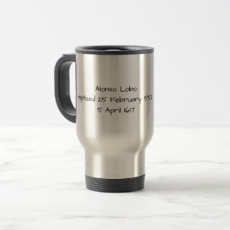 Alonso Lobo Travel Mug
