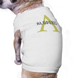 Alopekis Breed Monogram Pet Clothing