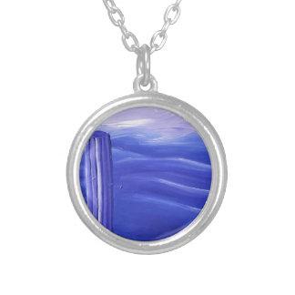 Aloun ( alein ) silver plated necklace