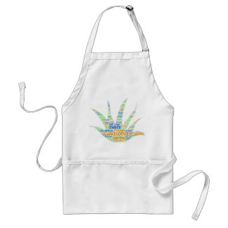 Alove Vera illustrated with cities of Florida USA Standard Apron