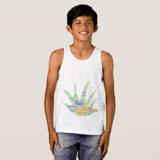 Alove Vera illustrated with cities of Florida USA Tank Top