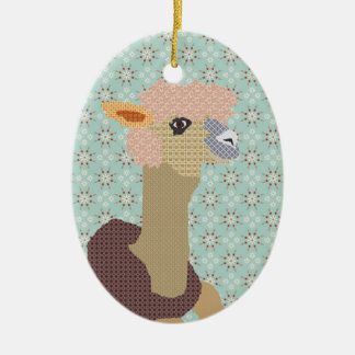 Alpaca Art Ornament