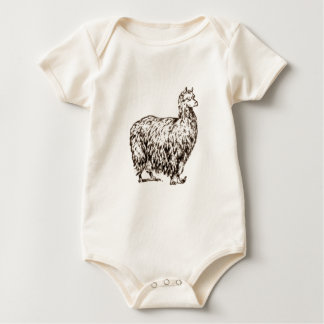 Alpaca Baby Bodysuit