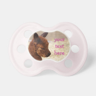Alpaca Baby Pacifier