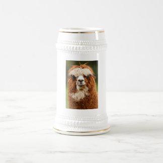 Alpaca Beer Stein