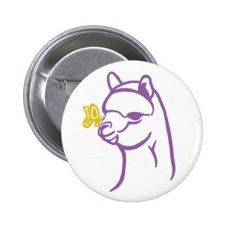 Alpaca Butterfly Pins