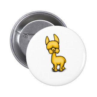 Alpaca Pinback Buttons