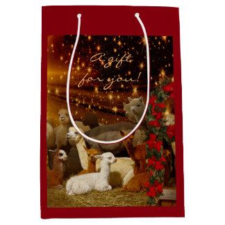 Alpaca Christmas Gift Bags