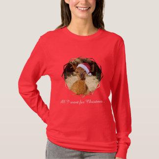Alpaca Christmas T-Shirt