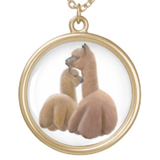 Alpaca & Cria Love Necklace