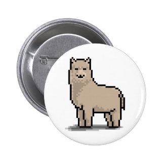 Alpaca Grace Buttons