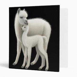 Alpaca & Her Cria Avery Binder
